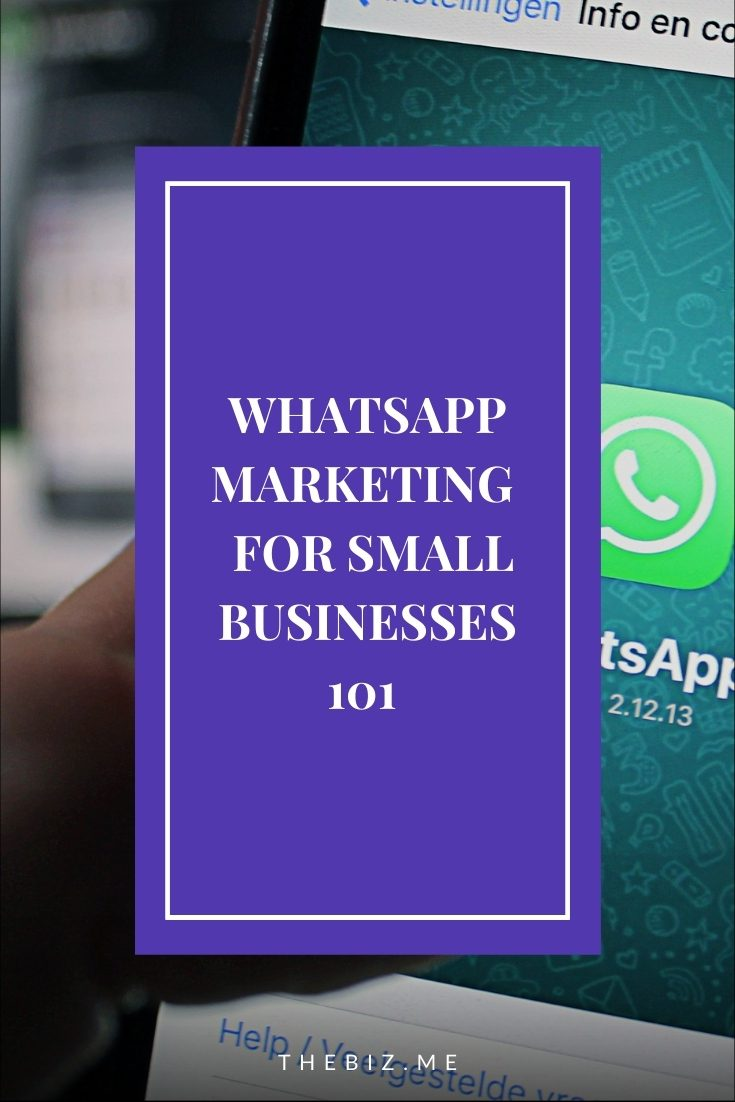 WhatsApp marketing strategy small businesses