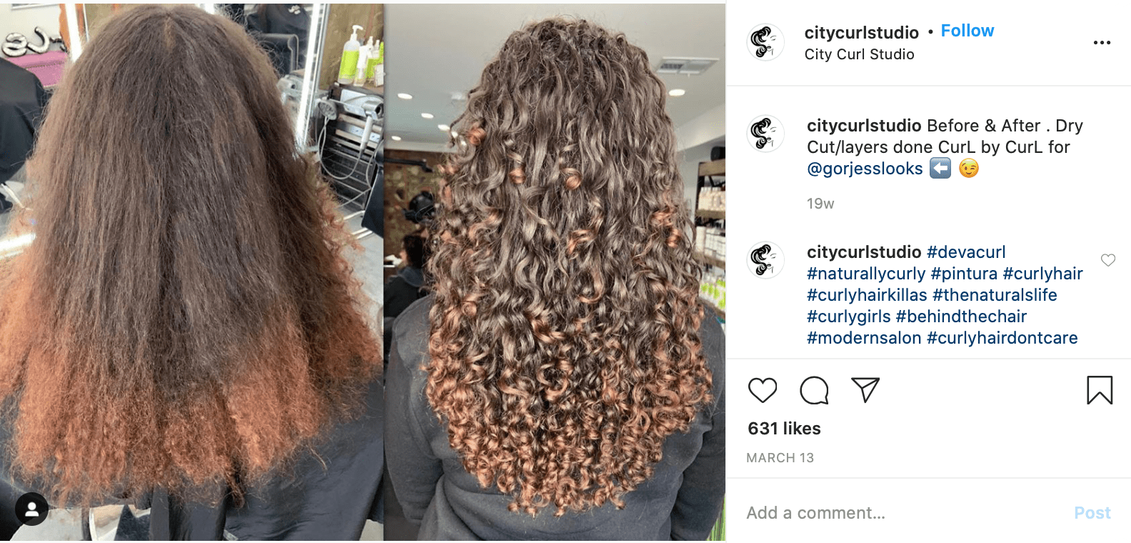 Hair Salon Instagram Accounts