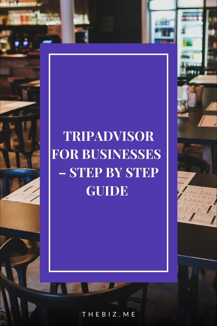 tripadvisor for businesses how to set up and manage account