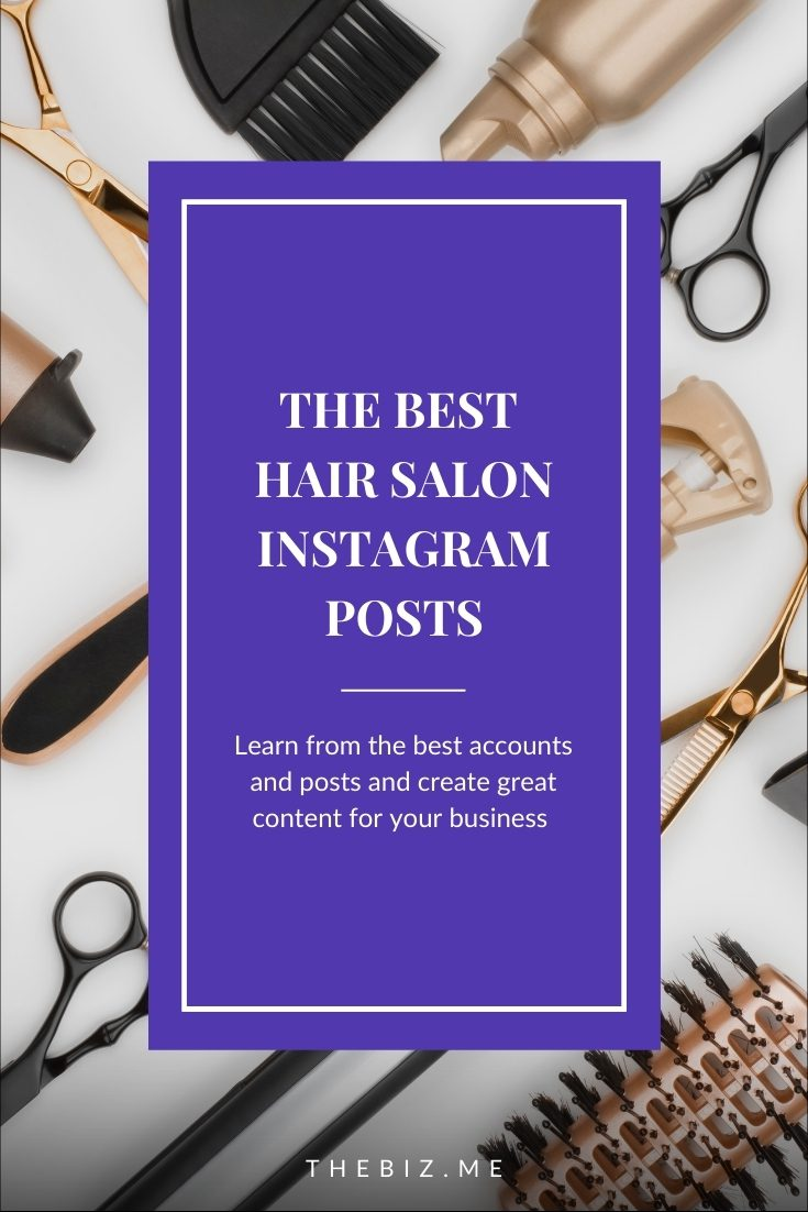 best hair salon instagram accounts