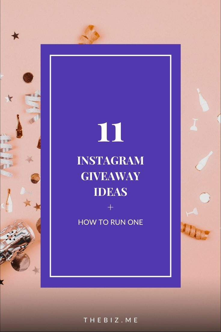 instagram giveaway ideas