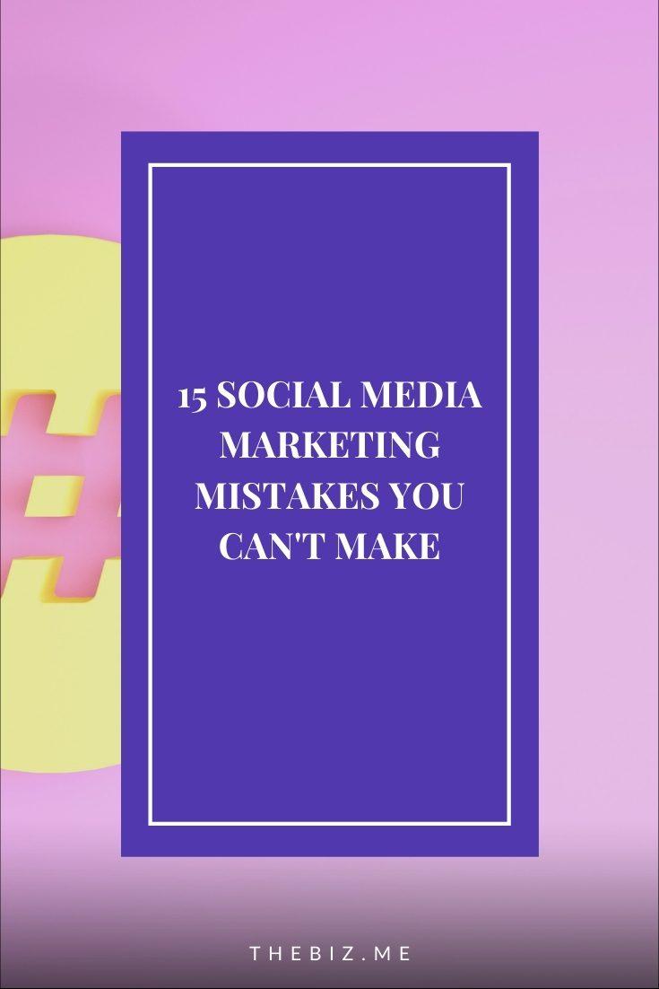 common social media marketing
