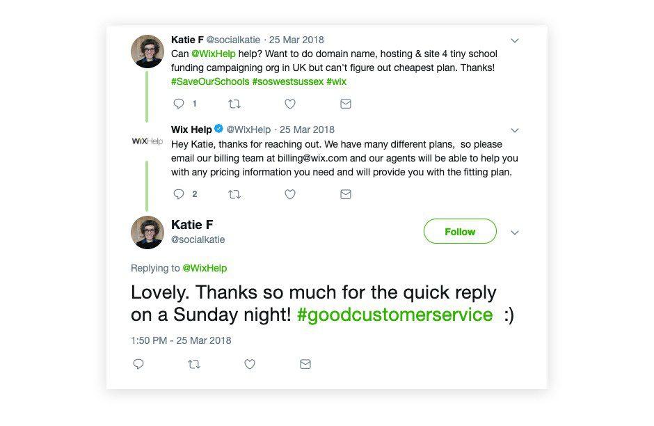 Customer Service on Social Media fix
