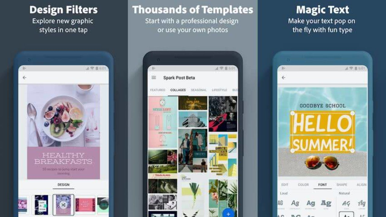 best instagram stories apps adobe spark