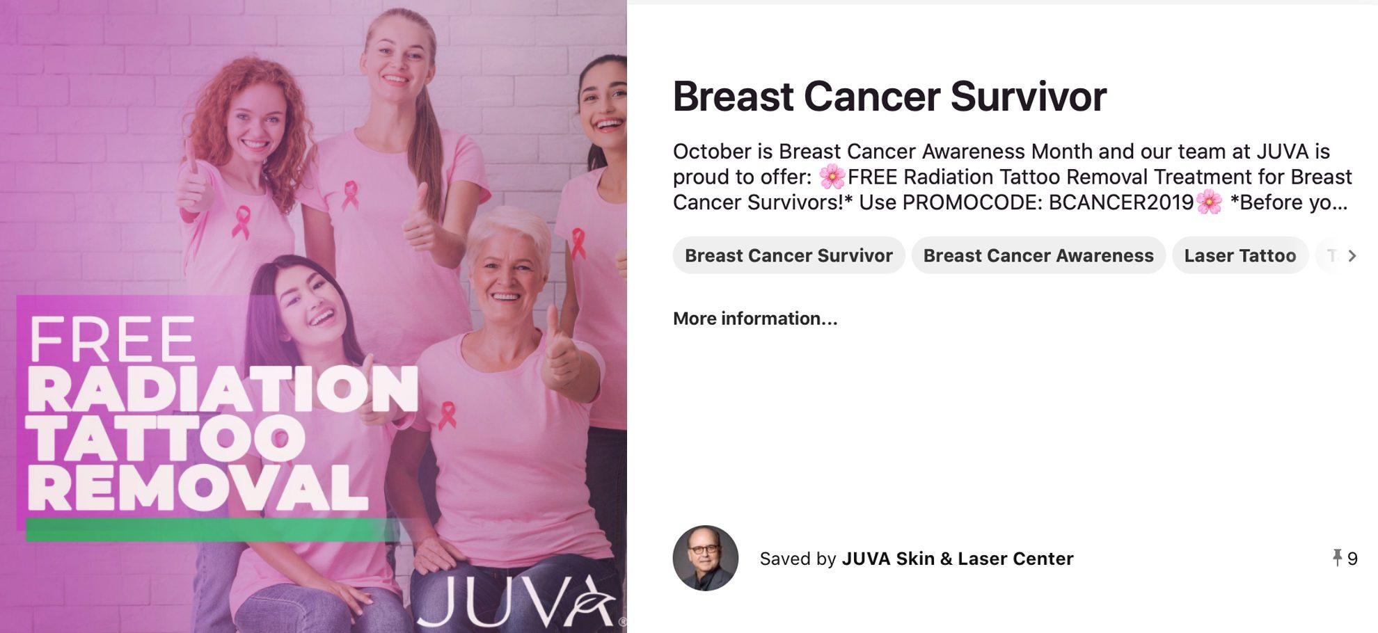 October Social Media Calendar breast cancer