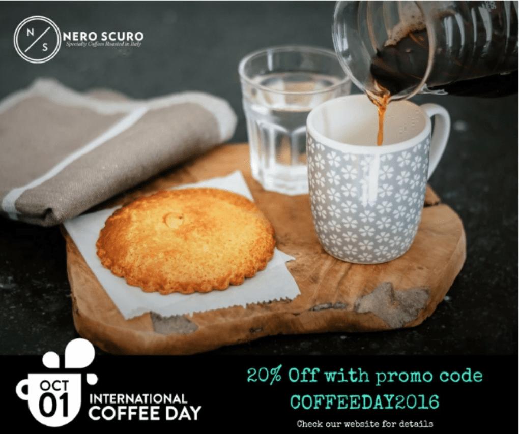 October Social Media Calendar coffee day