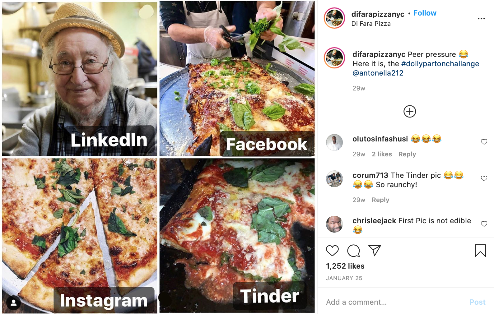 best pizzeria instagram posts di para pizza nyc