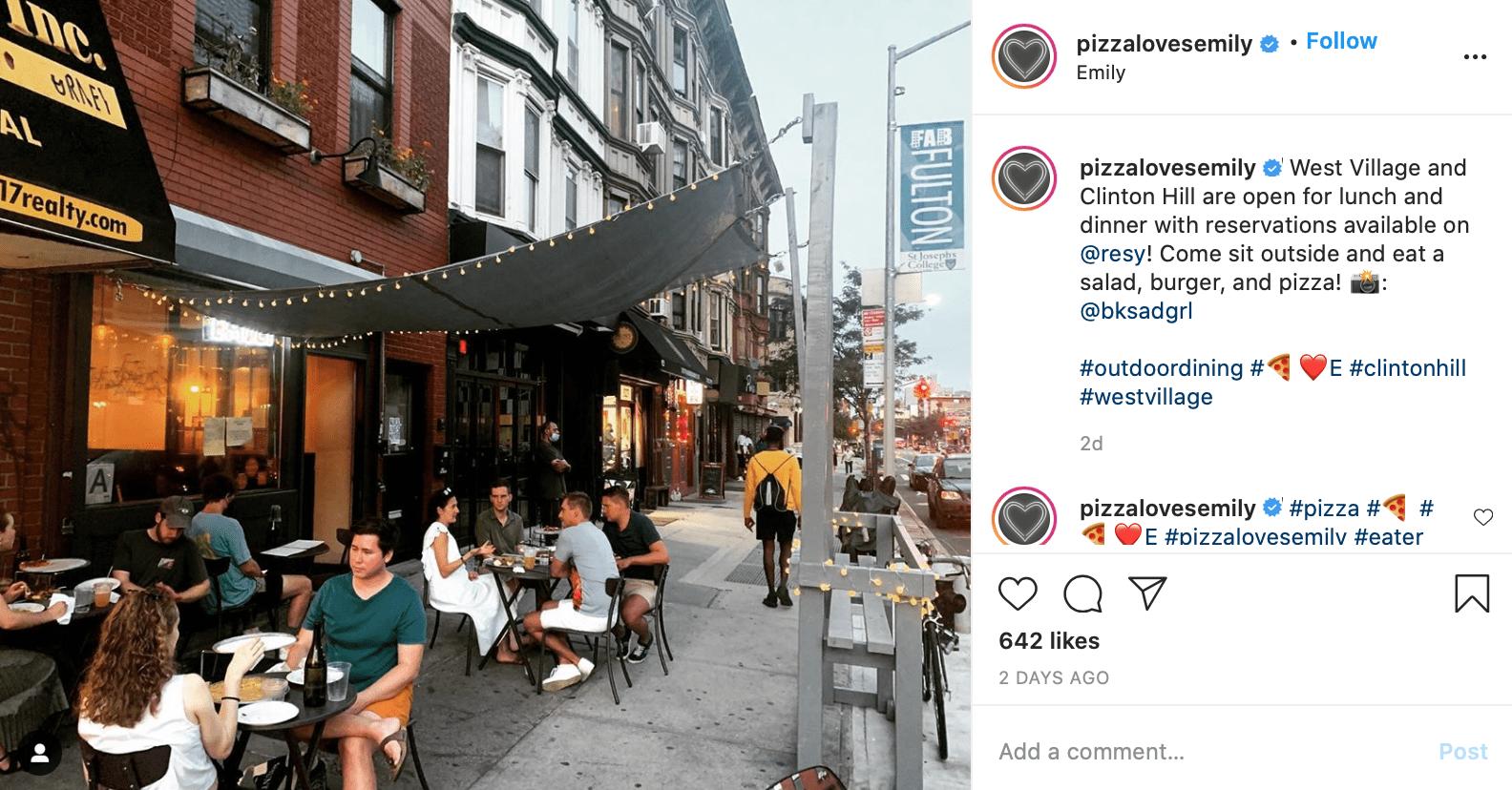 best pizzeria instagram posts pizza loves emily