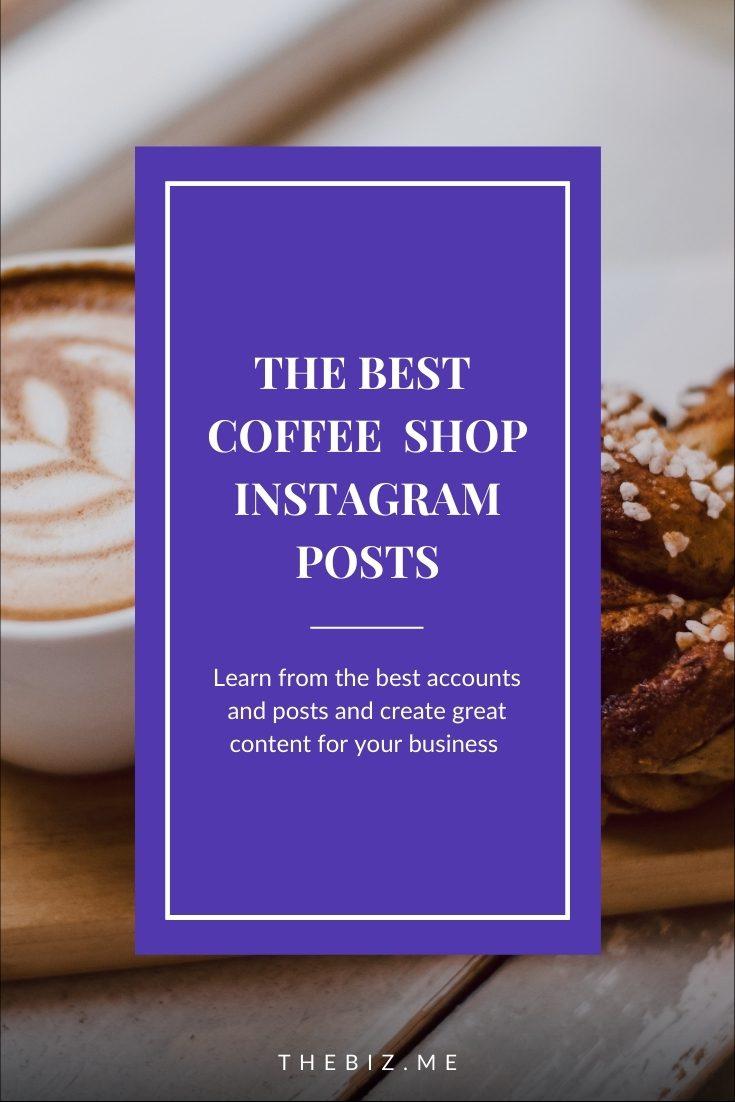 best coffee shop instagram accounts
