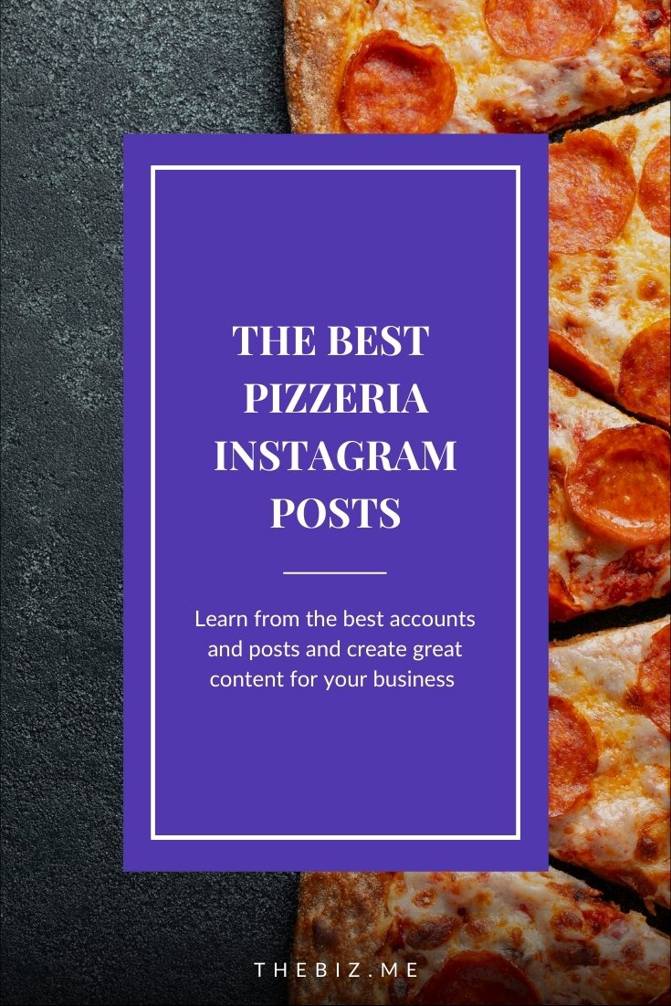 pizzeria instagram posts
