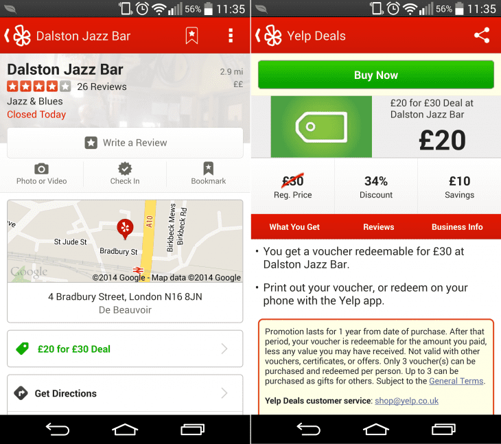 Ways to Increase Online Bookings Small Business yelp deal