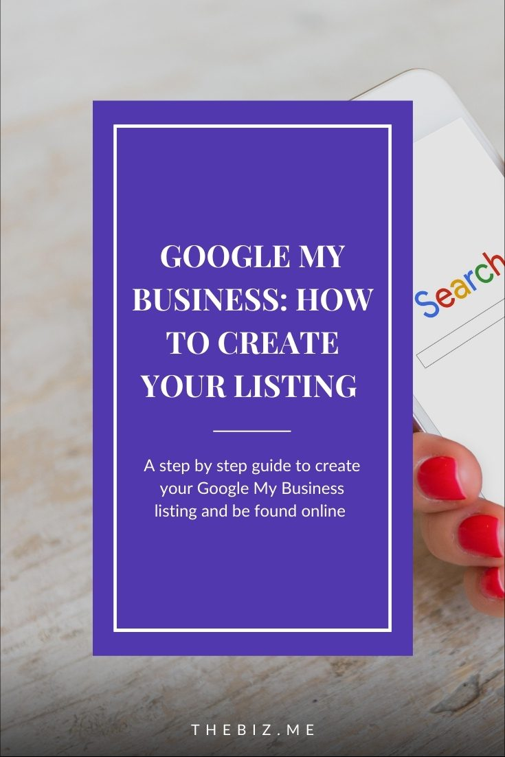 how to create a google my business listing