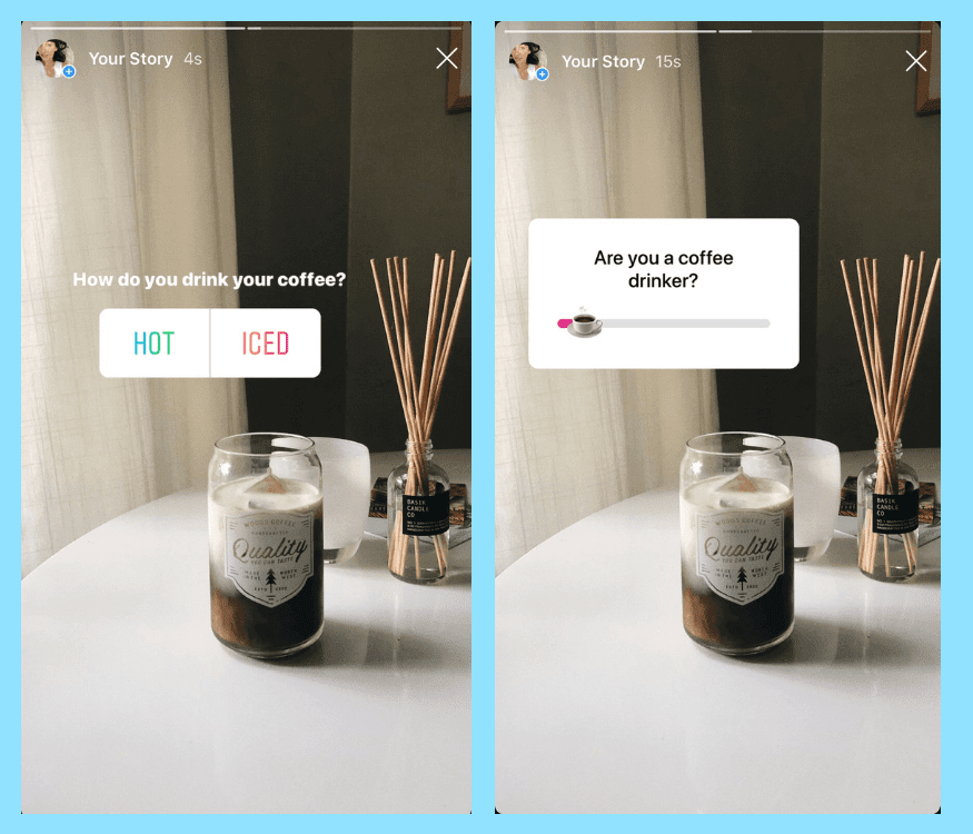Instagram Stories for Businesses polls
