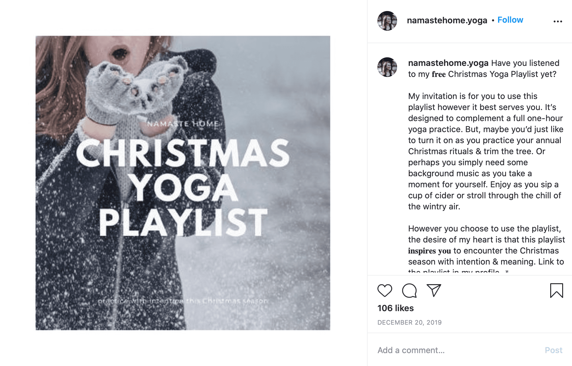 christmas marketing ideas playlist