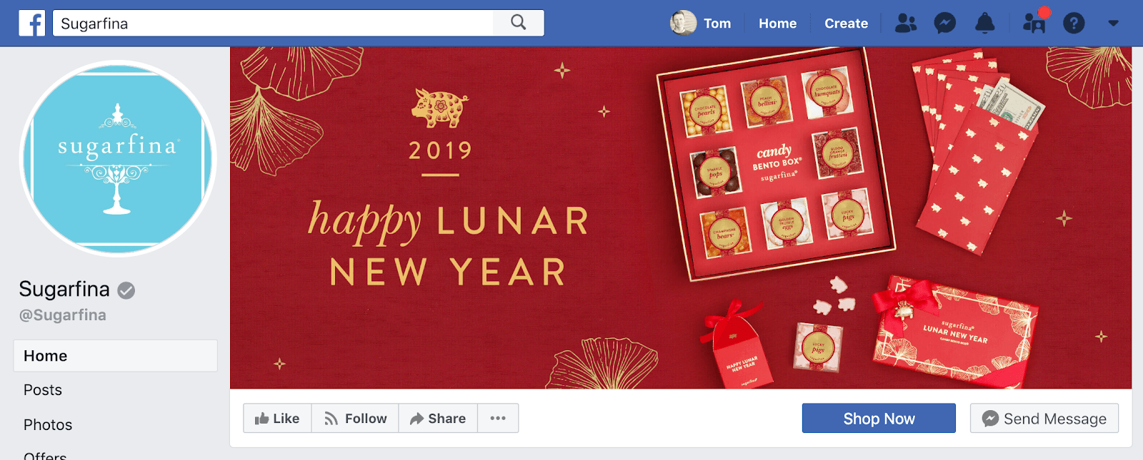 New Years Marketing Ideas facebook cover