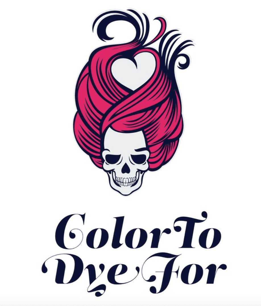hair salon logo ideas skull