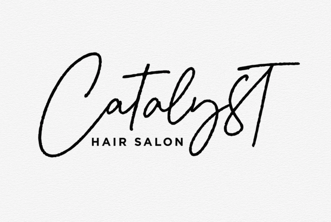 minimalist hair salon logo ideas