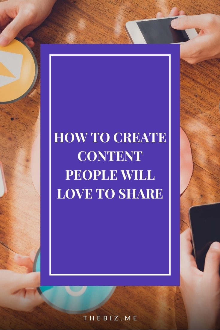 how to create content people will love to share