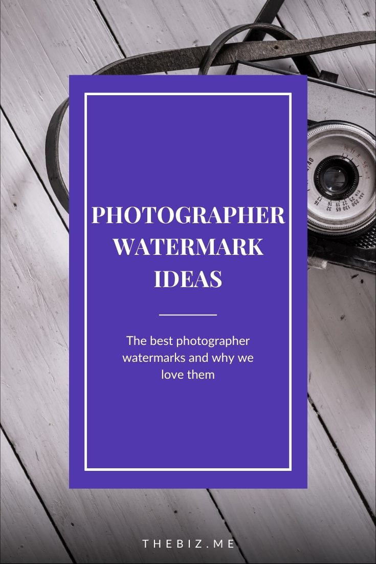 photographer watermark ideas