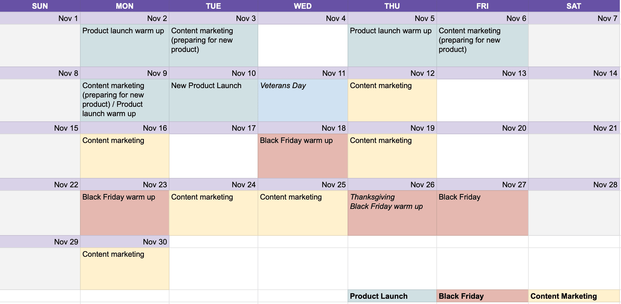 social media content calendar how to plan one month at once