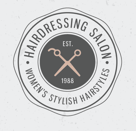 hair salon logo ideas vintage