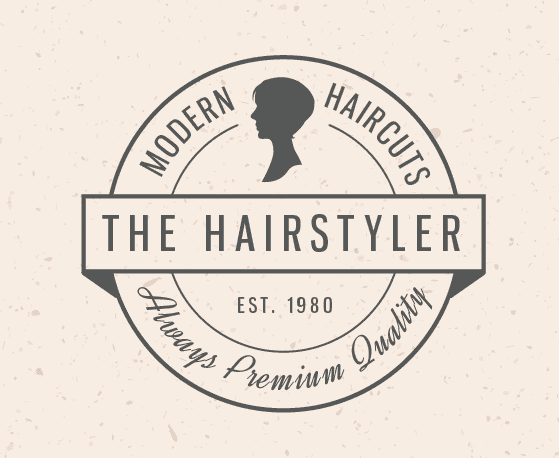 hair salon logo ideas vintage 2