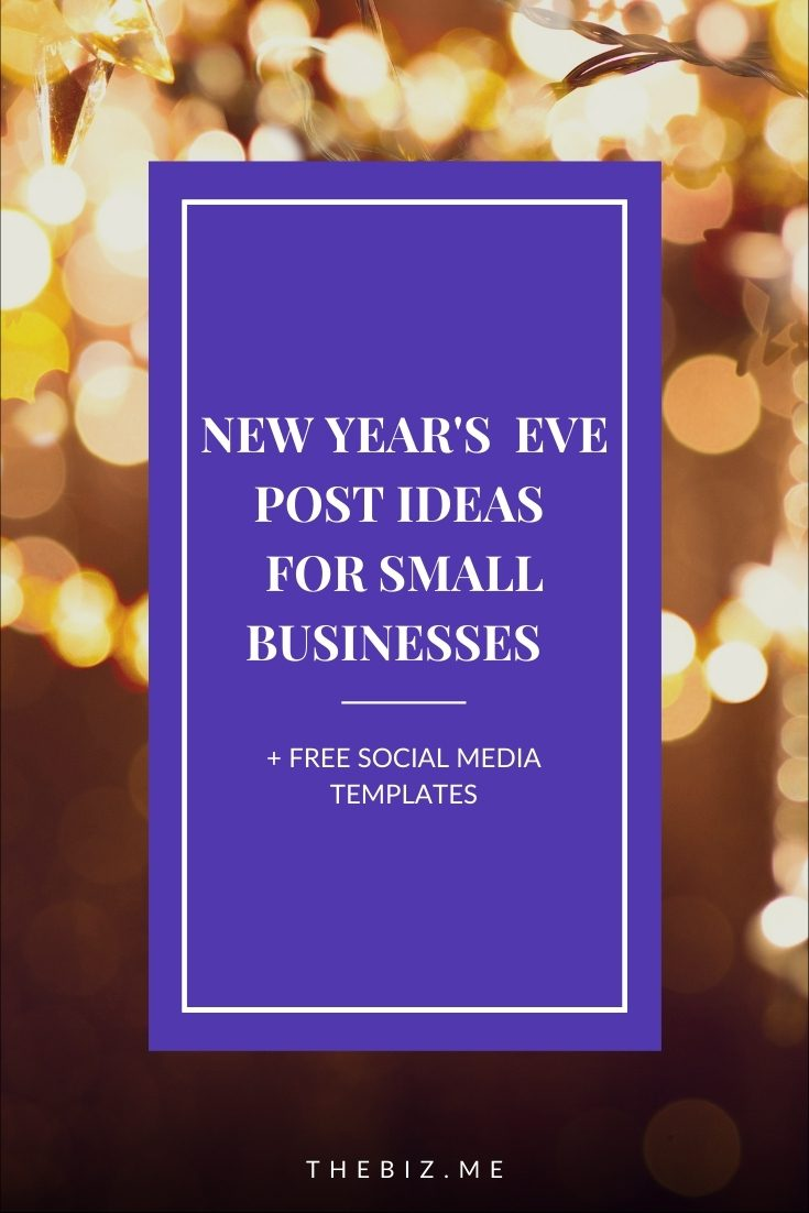 new years eve post ideas social media post templates