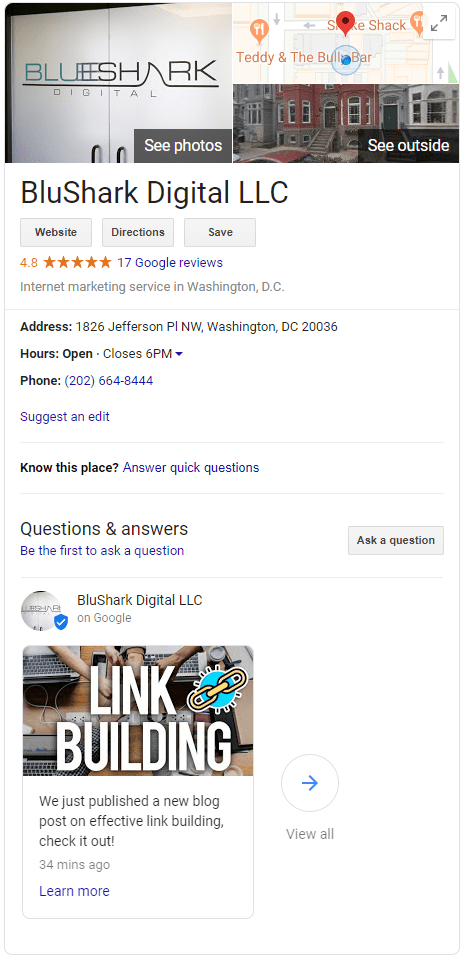 google my business posts whats new